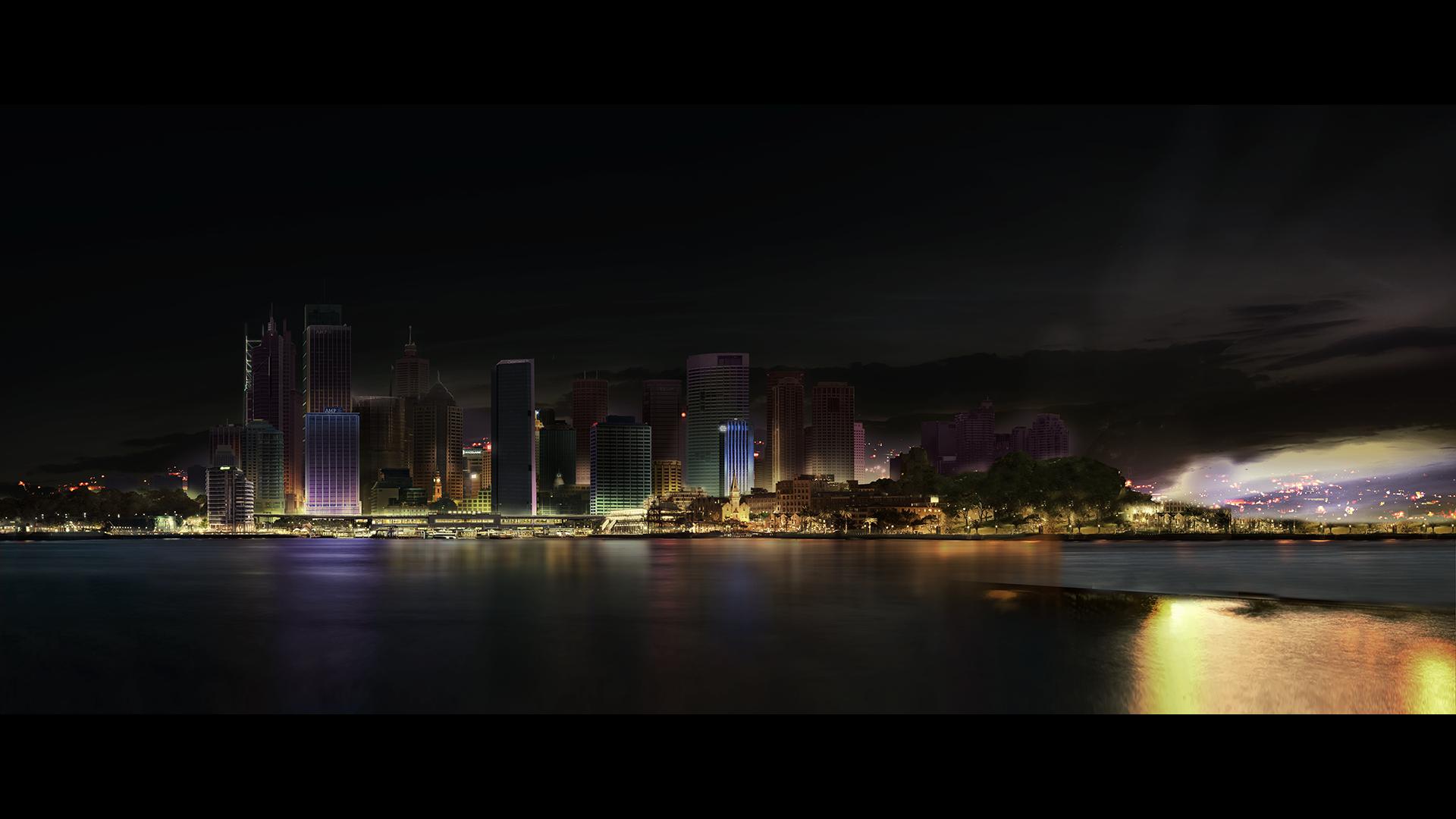 Modalità Aereo film – Sydney skyline – Pino Gengo